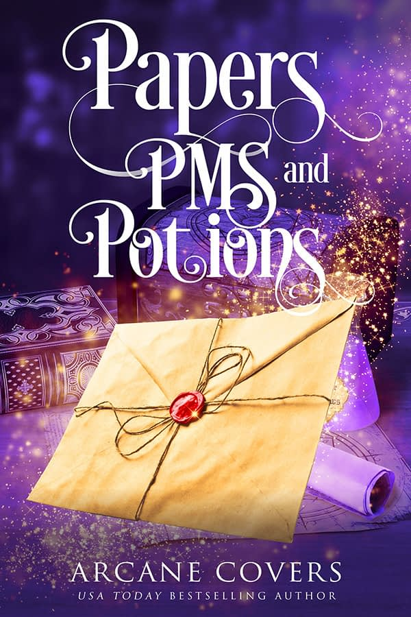 Papers PMS And Potions - Arcane Covers - Paranormal Women's Fiction