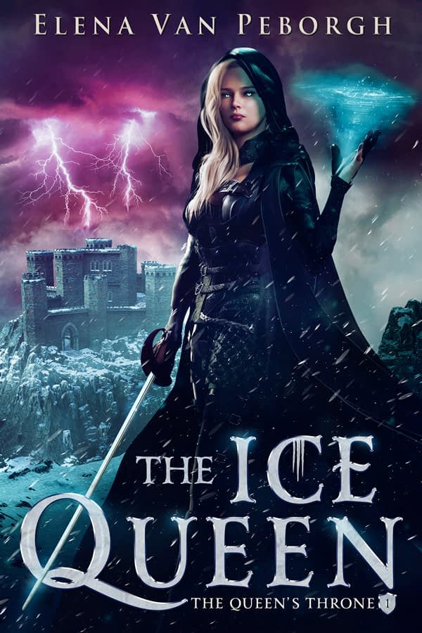 fantasy book cover design by jlwilsondesigns