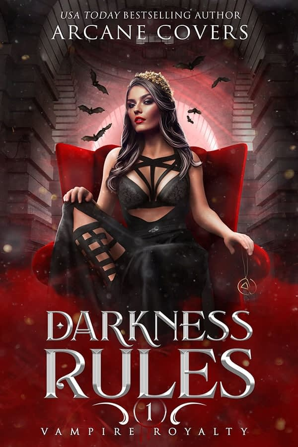 Darkness Rules - Arcane Covers - Para And SciFi Romance