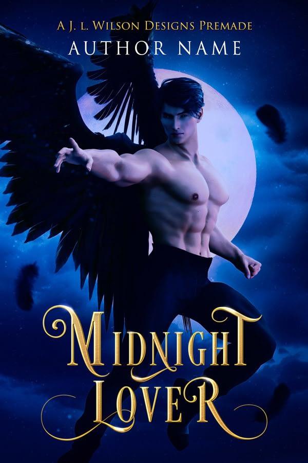 angel fantasy romance book cover