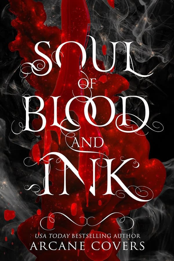 Soul Of Blood And Ink - Arcane Covers - YA Fantasy